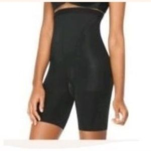 BOGO Spanx In Power Black Shaper High Waist Shorts